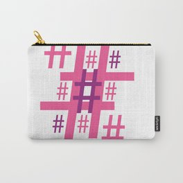 Hashtag Carry-All Pouch