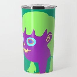 teenage zombie girl  Travel Mug