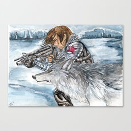 Soldier of Winter Canvas Print