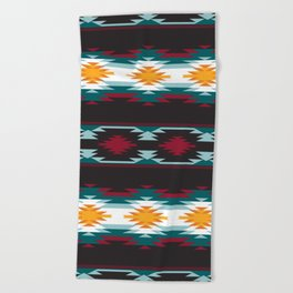 Native American Inspired Design Beach Towel