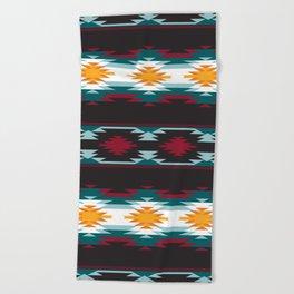 Native American Inspired Design Beach Towel