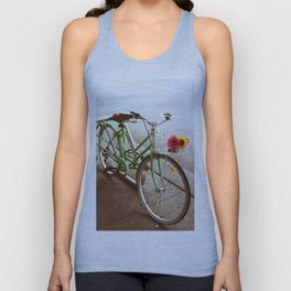 MINTY BIKE Unisex Tank Top