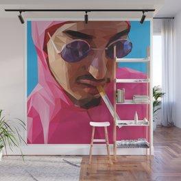 Pink Guy Wall Mural