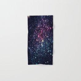 Galaxy Stars : Subtle Purple Mauve Pink Teal Hand & Bath Towel