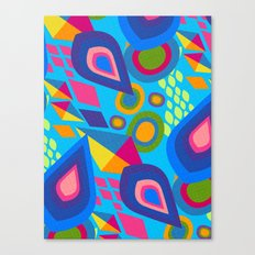 Pointed Conversation  Canvas Print