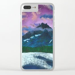 Safe Heaven Clear iPhone Case