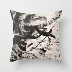 LOSSY Throw Pillow