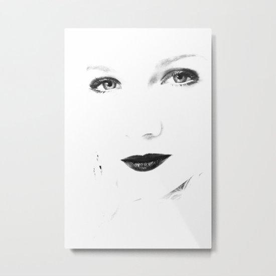 Face Metal Print