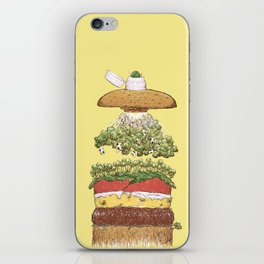 It's Burger Time! iPhone Skin