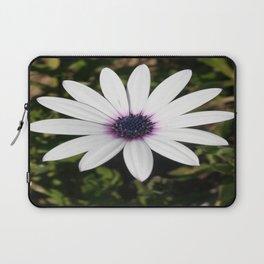 White African Daisy Laptop Sleeve