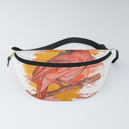 Red cardinal Fanny Pack