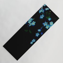 Forget-me-not Yoga Mat