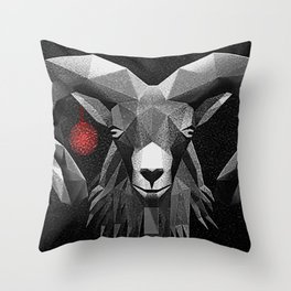 Bell and Animal Throw Pillow