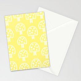Love Mushroom Pattern Stationery Cards