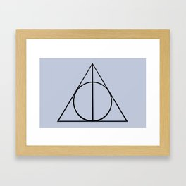 The Three Brothers Framed Art Print