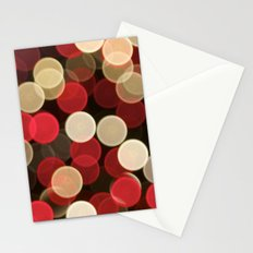 Winter Bokeh Stationery Cards