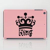arya iPad Cases featuring King Gajeel by Arya
