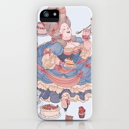Let Us Eat Cake iPhone Case