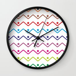 Connected eachother Wall Clock