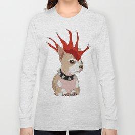 Bad Ass Chihuahua Long Sleeve T-shirt