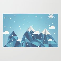 Cool Mountains Rug