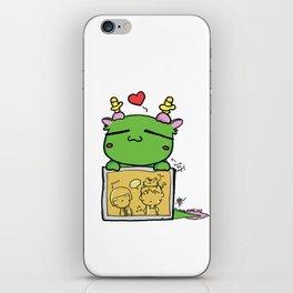 Kuma the dragon iPhone Skin
