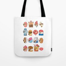 Puglie Food Collection 3 Tote Bag