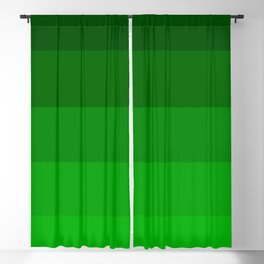 Irish Kelly Green Ombre Stripes Blackout Curtain