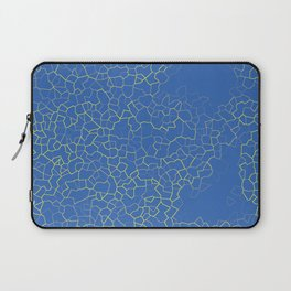 Crackle at the Poolside Laptop Sleeve