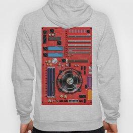 Computer Motherboard Electronics. Hoody