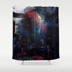 Back to Omega Centauri Shower Curtain