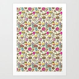 Sweet Eats Art Print