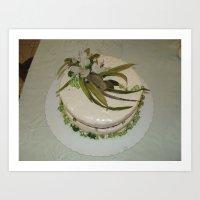 art cake Art Print