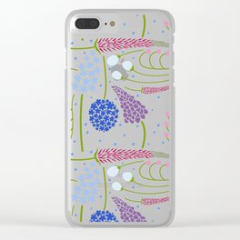 Spring Formation Clear iPhone Case