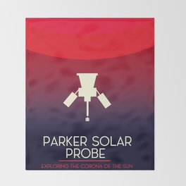 Parker Solar Probe Exploration of the corona of the sun. Throw Blanket