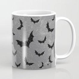 Swirly Bat Swarm Coffee Mug