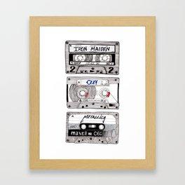 K7 Metal Mix Framed Art Print