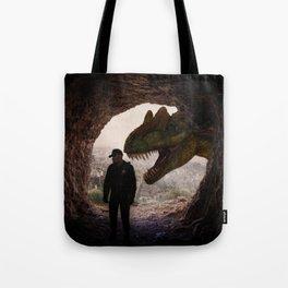T-Rex Cop by GEN Z Tote Bag