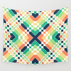 Retrographic Wall Tapestry