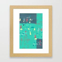 structures 2 Framed Art Print