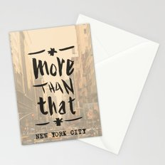 More Than That - New York City - Stationery Cards