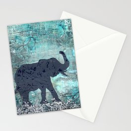Majestic Series: Turquoise and silver Stationery Cards
