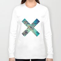 palm trees Long Sleeve T-shirts featuring Palm Trees by Zavu