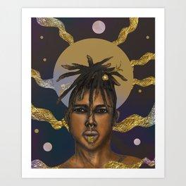 Afrocosmos II Art Print