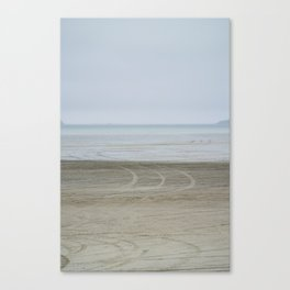 Airport on the beach Canvas Print