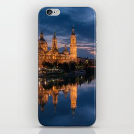 Zaragoza, Aragon, Spain. iPhone Skin