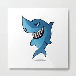 Sharkie Metal Print