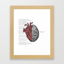 SHUT THE F*CK UP! Framed Art Print