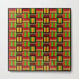 African Print Metal Print