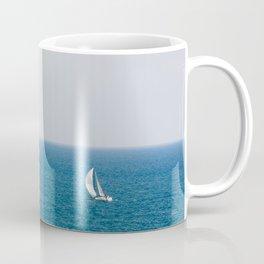 Sailing alone II Coffee Mug